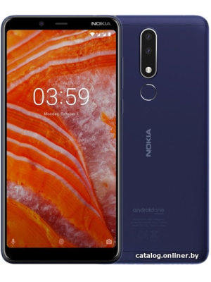 Смартфон Nokia 3.1 Plus 3GB/32GB (индиго)